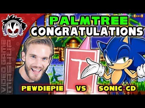 Palmtree Congratulations - PewDiePie Vs Sonic CD