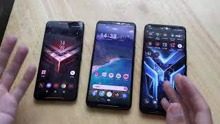 So sánh bộ 3 ROG Phone: đi lùi trong thiết kế?