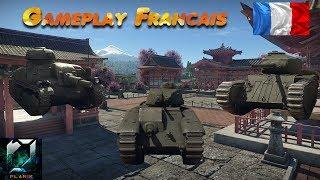WAR THUNDER (tank) |  Découverte des premiers chars Français ! (Gameplay 1.75 Dev Server)