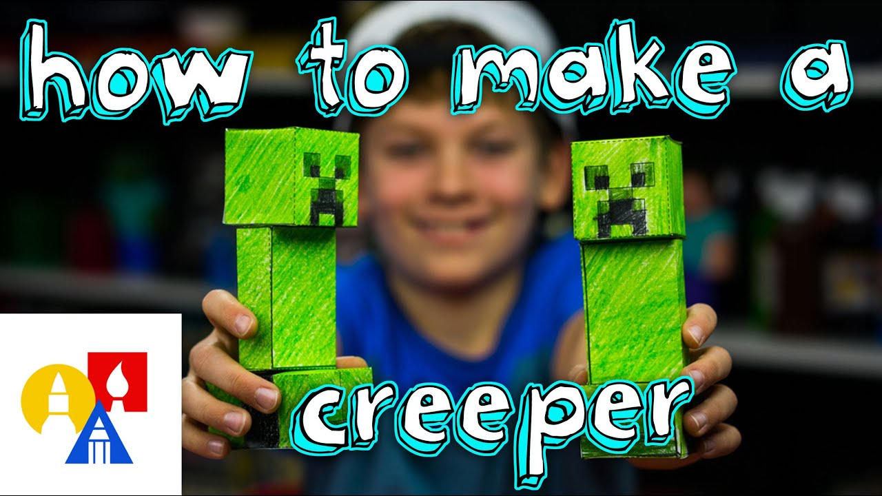 Papercraft How To Make A Papercraft Creeper From Minecraft