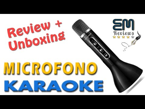 Micrófono+Altavoz de Karaoke Portátil Bluetooth | UnBoxing y Review