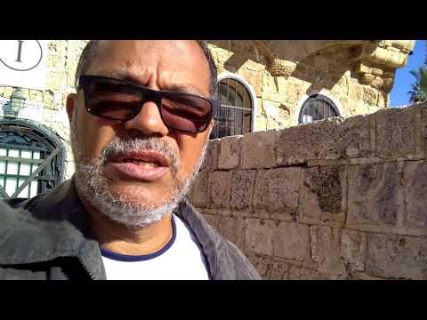 Cidade de Jope - Israel, com Pr Ubiratan dez 2016