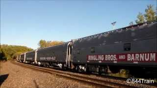 Video Circus Train!  RBBX Blue Train in Kansas City with SD70ACe Leading download MP3, 3GP, MP4, WEBM, AVI, FLV April 2018