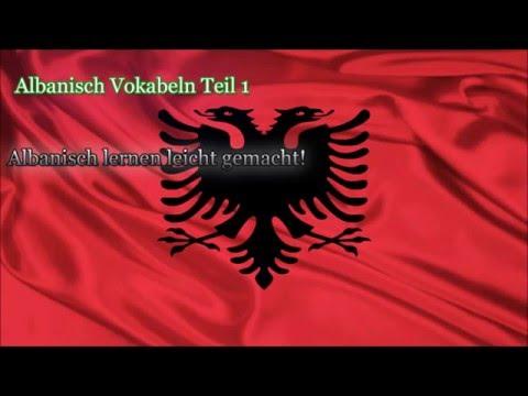 Albanisch Lernen Für Anfänger Vokabeln Zum Nachsprechen