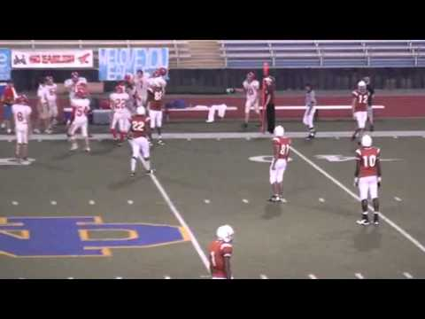 David Leake's Tensas Academy 8 Man Highlight Film 08-11