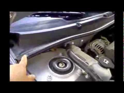 How to replace the cabin filter on a 2009 Chevy Impala