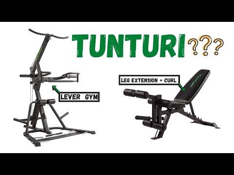 tunturi:-wt85-&-utility-bench-ub60-(leg-extension-+-curl)-  -recensione