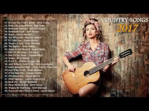 Top 100 Country Songs 2017 - Best Country Music Playlist 2017