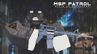 [65] MSP PATROL, SPECIAL OPERATIONS BUREAU PATROL [SOB] !!! | New Haven County ROBLOX