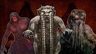 10 самых жутких монстров из книг, включая Ктулху