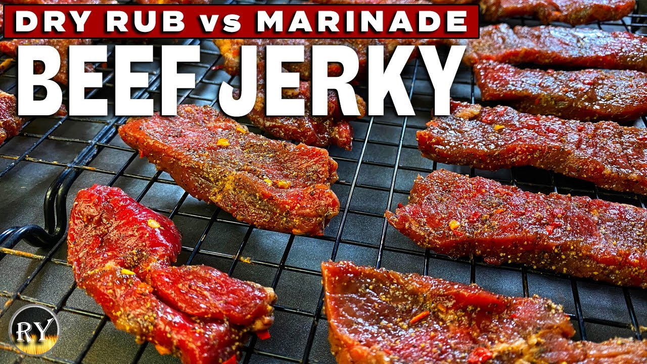Beef Jerky Dry Rub Recipe
