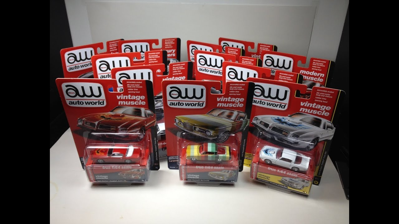 Auto World 2017 Release 3 Sets A and B Unboxing From autoworldstore ...