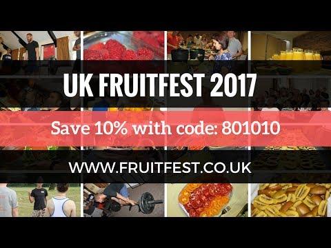 Meet Dr Graham at UK Fruitfest 2017