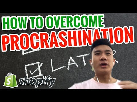💥 How to overcome PROCRASHINATION 💥 - Work At Home Ecommerce