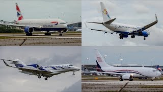 Bahamas | March 24/2019 Planespotting Compilation | Runway Close ups