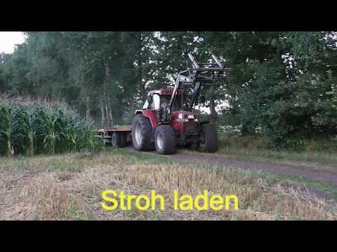 Stroh laden - Case Maxxum 5140