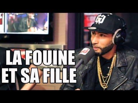 La Fouine appelle  sa fille en direct sur NRJ !