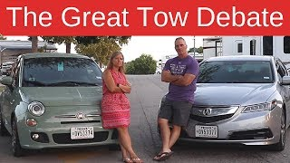 RV Towing: Dolly vs RV Flat Tow -  Full Time RV Living