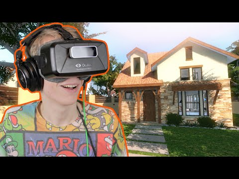 INTERIOR DESIGN IN VIRTUAL REALITY! |  Charette VR Tour (Oculus Rift DK2)
