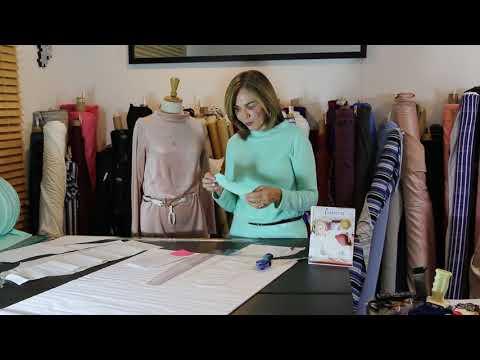 Let's Sew - Episode 142 - The Fall Funnel Neck In Velvet