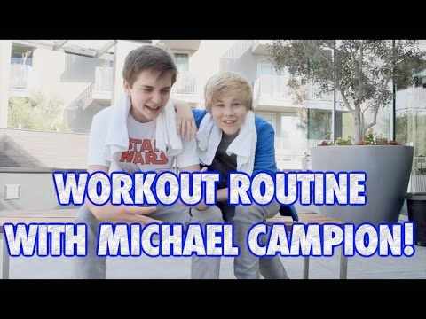 Fuller House Michael Campion and I show your our DAILY WORKOUT ROUTINE!!!