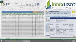 fb01 post document in sap right from excel