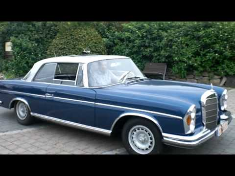 mercedes 250 se coupe 1966 w111 fenster runter anfahren. Black Bedroom Furniture Sets. Home Design Ideas