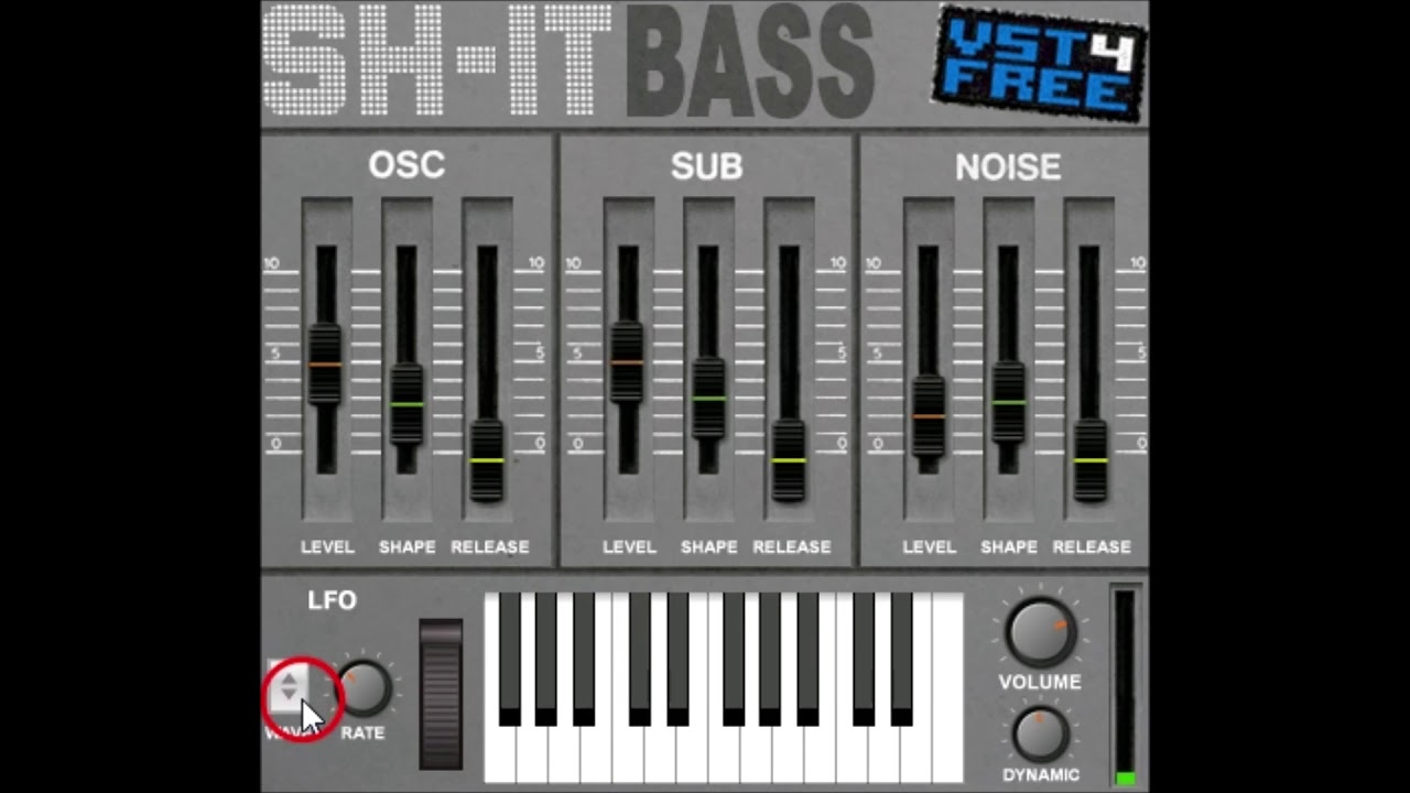 SH-IT BASS by VST4FREE