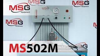 MSG MS502M - Стенд для диагностики рулевых реек и редукторов с гидроусилителем