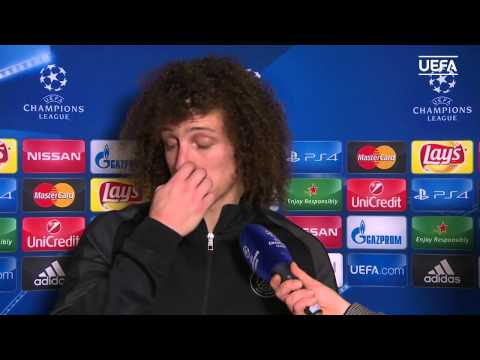 David Luiz after a routine 2-0 win for PSG