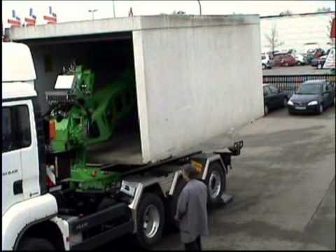 Prefab Garage Beton : Deuringer garagen transport absetzsystem typ sfd youtube