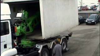 Deuringer Garagen Transport Absetzsystem TYP SFD142