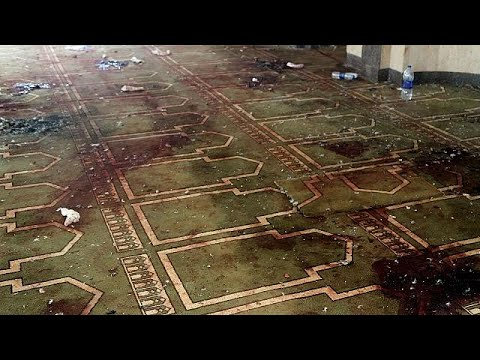 Egypte : le bilan de l'attentat passe à 305 morts