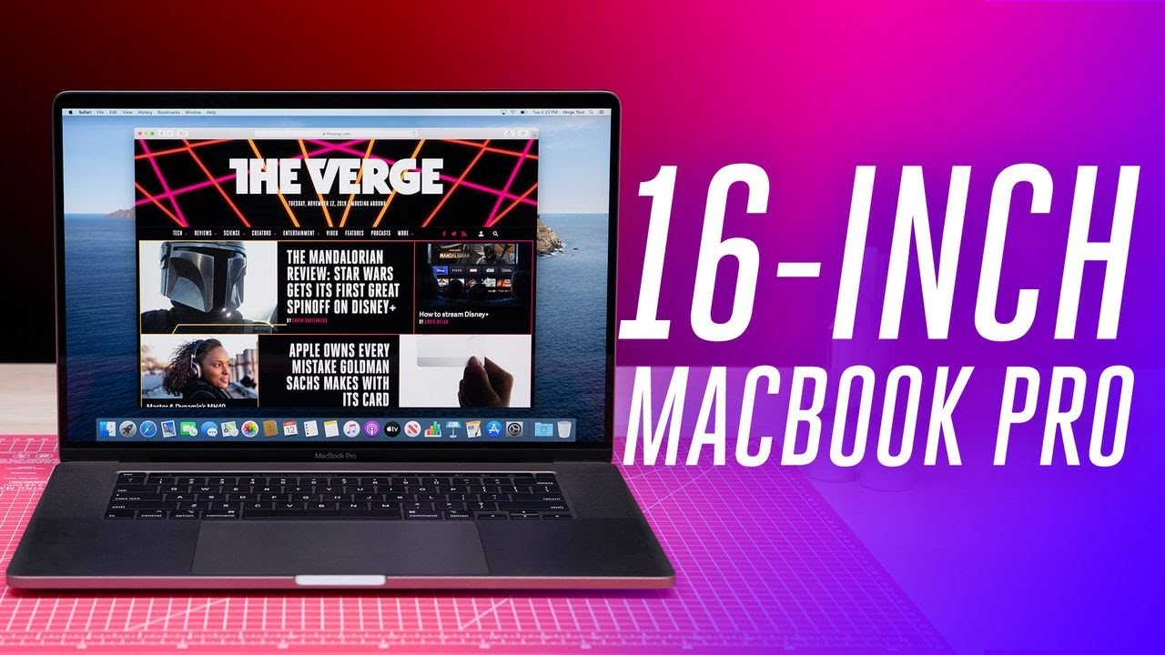 Apple's 16-inch MacBook Pro is here and it has a good keyboard