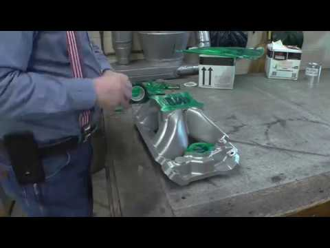 How to restore an Intake Manifold, Powder coat, Recondition