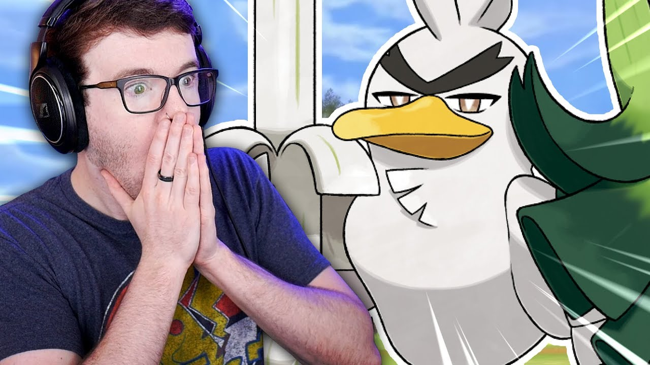 The Internet Reacts To Sirfetch'd, Pokmon Sword's New Farfetch'd Evolution
