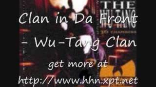 Clan in Da Front- Wu tang clan