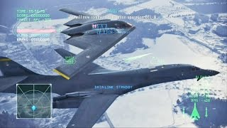 Ace Combat Infinity - Moscow Battle (B-1B Lancer)