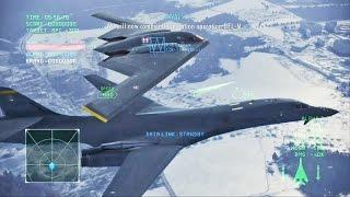 Ace Combat Infinity - Moscow Battle (B-1B Lancer)