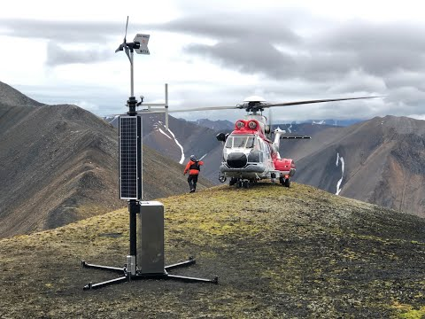 AIS base station on Svalbard