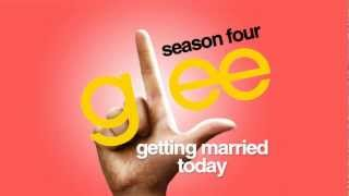 Watch Glee Cast Getting Married Today video