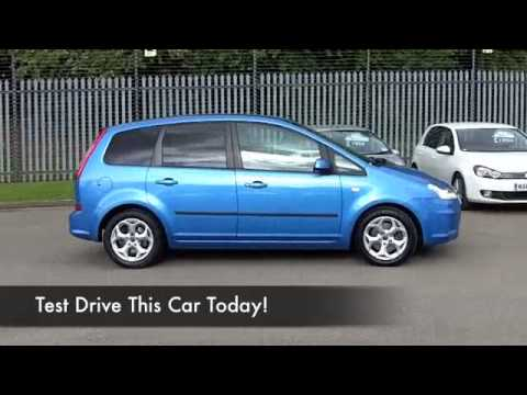 ford c max estate 2008 2 0 zetec 5dr auto re58ljv youtube. Black Bedroom Furniture Sets. Home Design Ideas