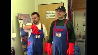 Uwe Wöllner in der LKW Waschanlage Teil 5