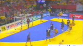 handball stars, goals, saves, air