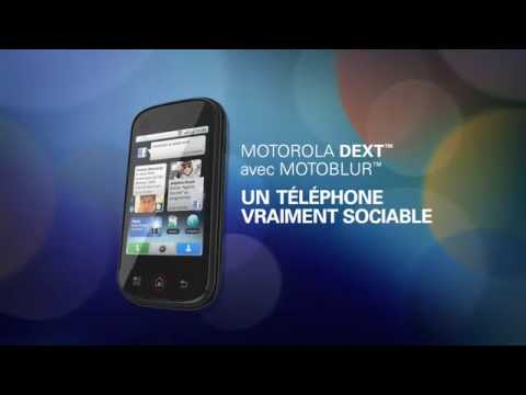 Motorola Dext avec MOTOBLUR