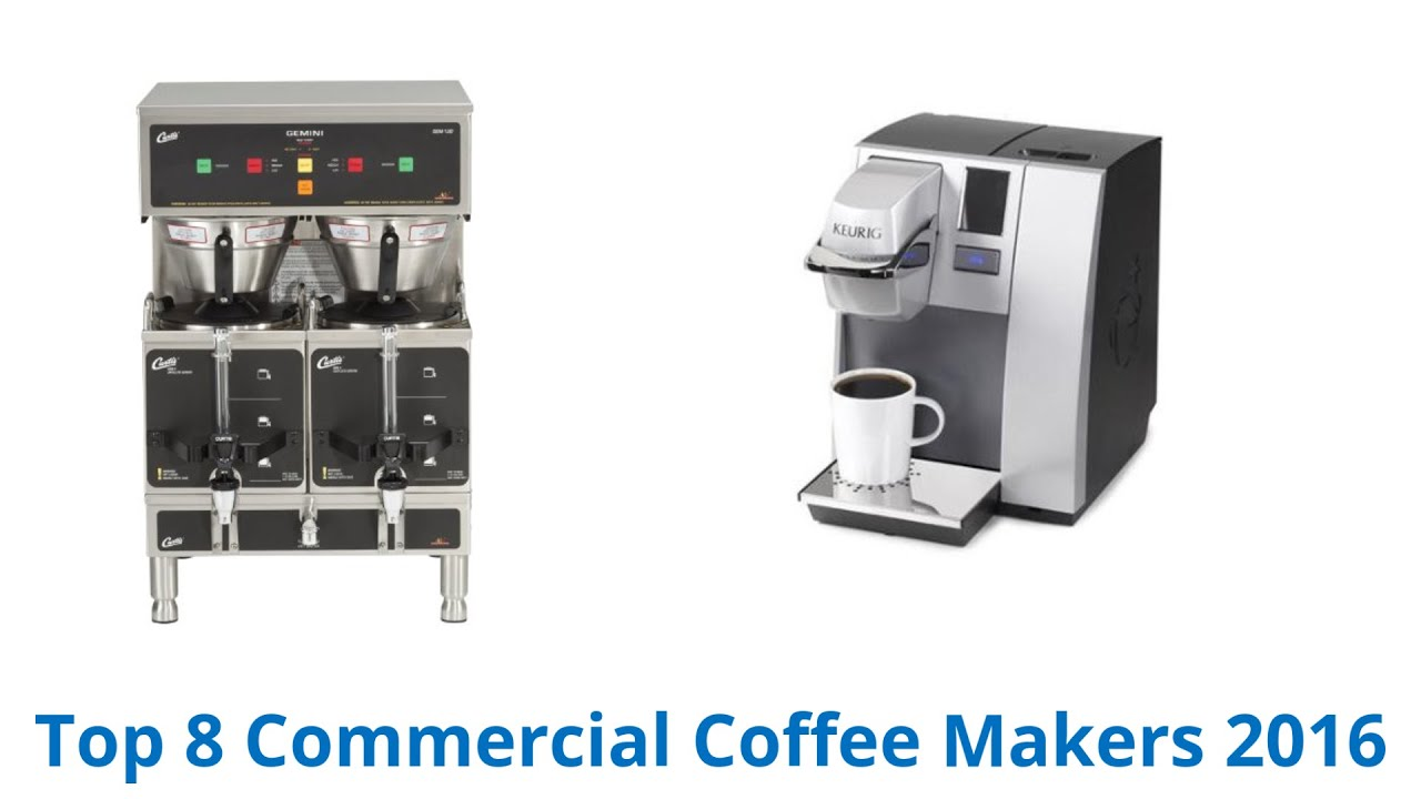8 best commercial coffee makers