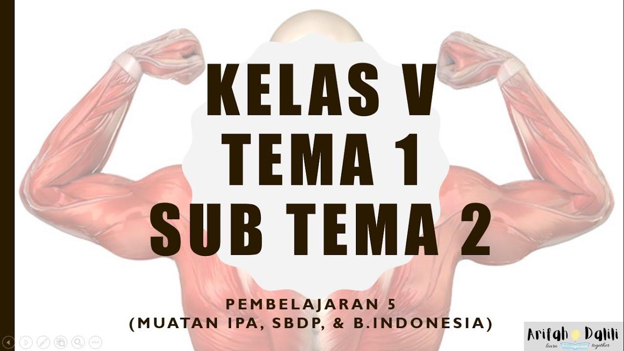 Download KELAS 5 (TEMA 1 SUB TEMA 2 PEMBELAJARAN 5)