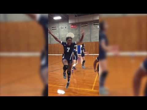 Varsity volleyball wins - Oakwood Friends School