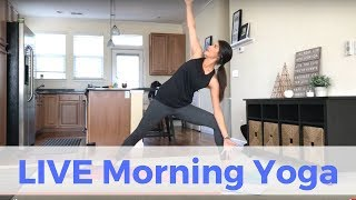 LIVE Morning Yoga Challenge