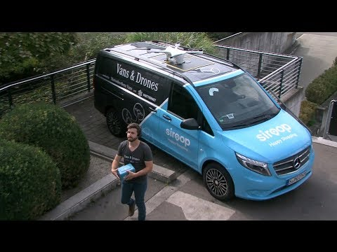 Mercedes-Benz Vans and Drones Delivery Service Demonstration Press Conference